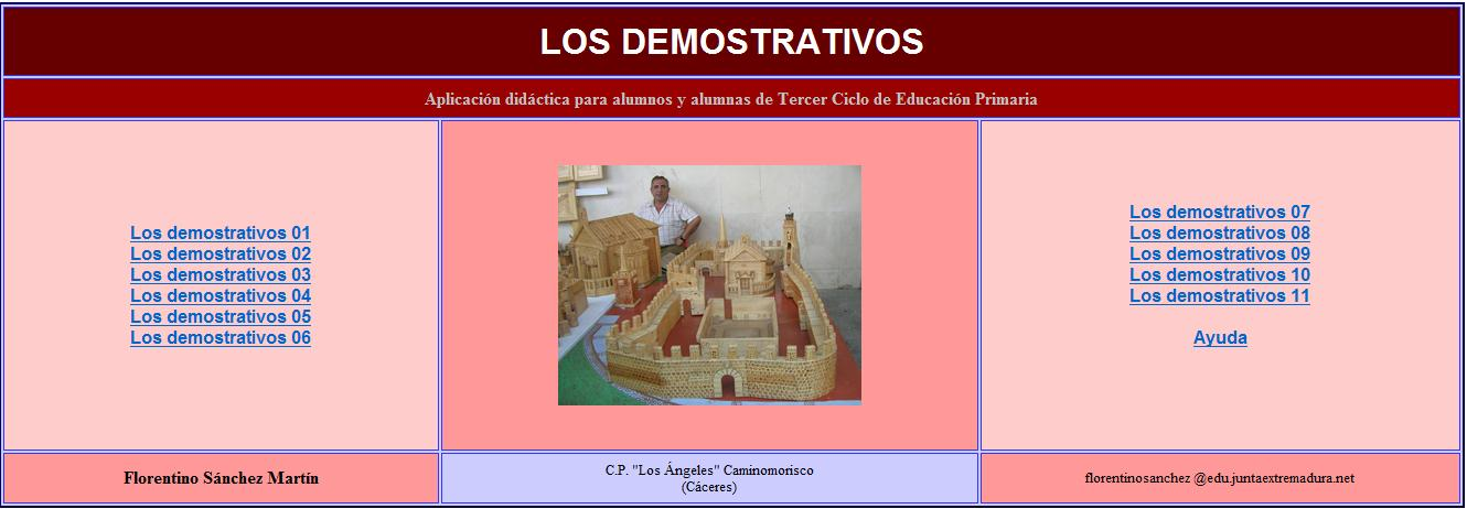Los demostrativos | Recurso educativo 35305