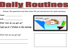 Daily routines | Recurso educativo 39875