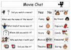 Movie chat | Recurso educativo 41095