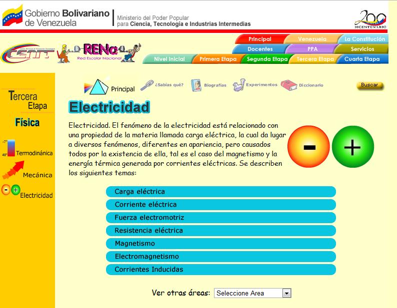 Electricidad | Recurso educativo 46665