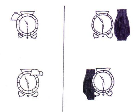 Ficha: posición del reloj - Tiching
