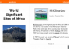 World significant sites of Africa | Recurso educativo 54201