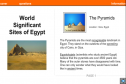 World significant sites of Egypt | Recurso educativo 54209