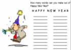 Happy new year | Recurso educativo 58442