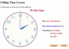 Telling time (lesson) | Recurso educativo 26568