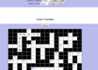 Crossword: Past forms | Recurso educativo 8438