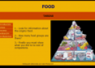 Webquest: Food groups | Recurso educativo 9440