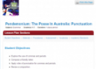 The Posse in Australia: Punctuation | Recurso educativo 68755