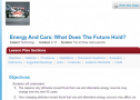 Energy and cars: What does the future hold? | Recurso educativo 69676