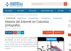 Historia del Internet en Colombia | Recurso educativo 750746