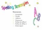 Spelling strategies | Recurso educativo 27468